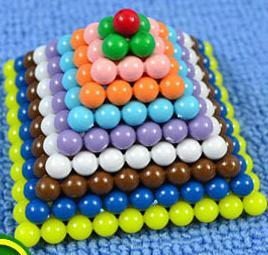 Aides-carré-nombre-A-Professional-Edition-de-Montessori-matériaux-Standard-pour-mathématiques-enseignement-Version-de-1