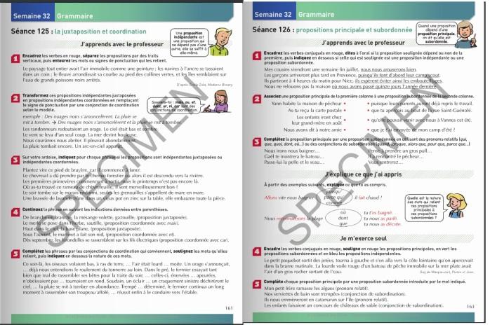 cm1 etude de la langue LDE
