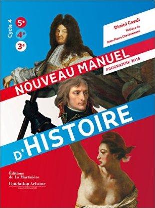 manuel d histoire