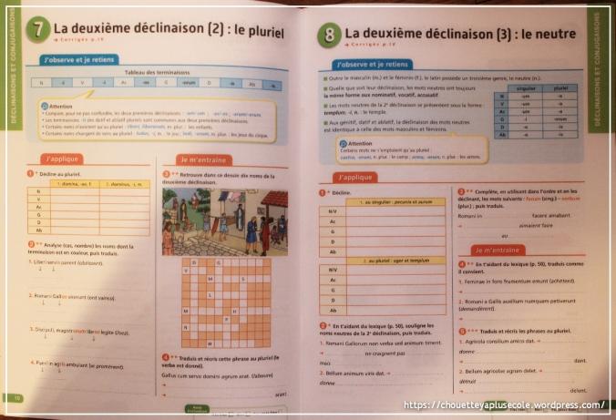 latin 5eme exercices
