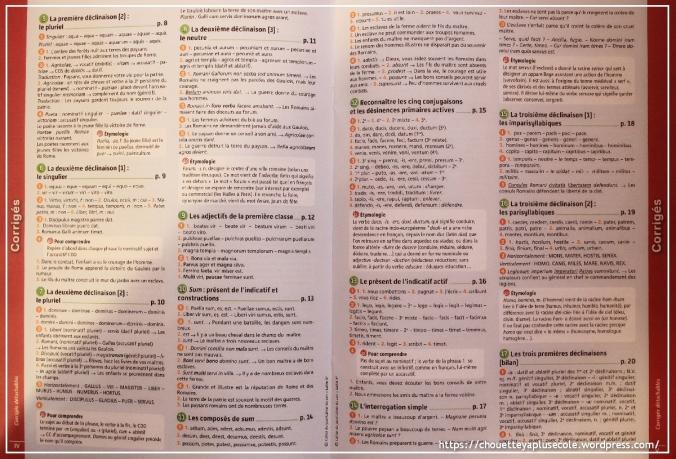 Cahier de latin magnard 5ème2