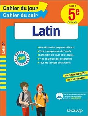 cahier du jour latin 5ème