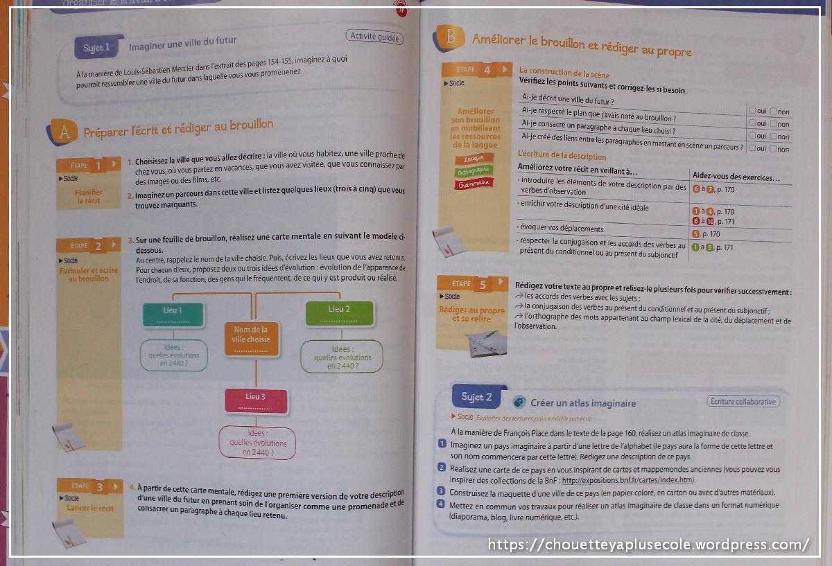 Amelioration Programme De 5eme Chouette Y A Plus Ecole