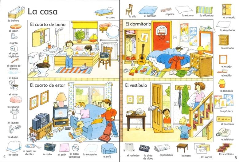 vocabulaire maison espagnol avie home. Black Bedroom Furniture Sets. Home Design Ideas
