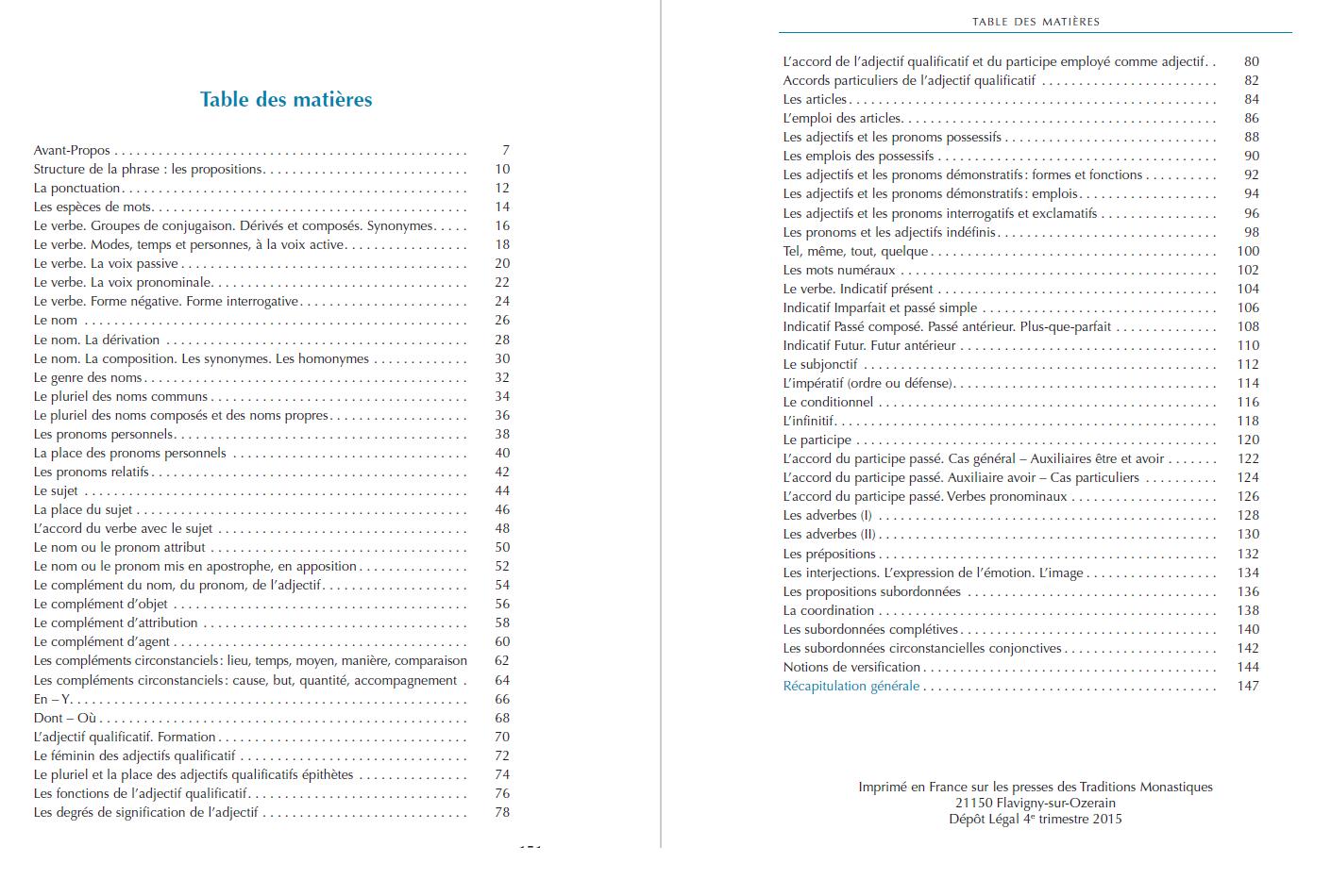Grammaire Française du XXIe siècle - exercices 6ème ...