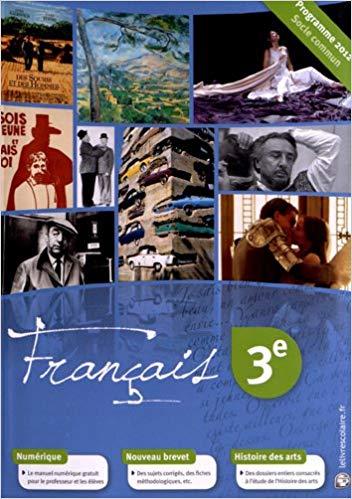 Francais 3eme Le Livre Scolaire Chouette Y A Plus Ecole